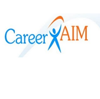 Career Aim: logo.