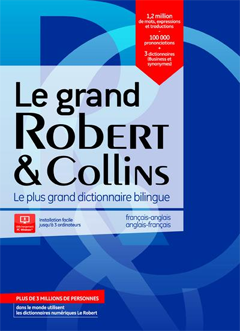 Grand Robert et Collins: logo.