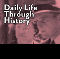 Daily Life Through History: logo.