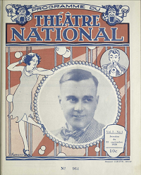 Collection de programmes de spectacles: logo.